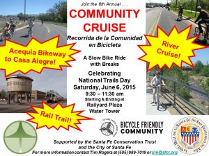 Railyard Community Cruise @ Santa Fe Railyard Plaza Water Tower | Santa Fe | New Mexico | United States