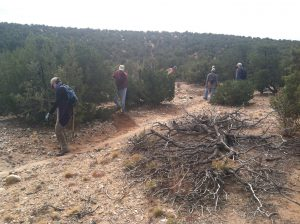La Tierra Trails Work Day @ Un-named Trailhead south of antenna | Santa Fe | New Mexico | United States