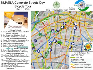 NMASLA Complete Streets Bicycle Tour